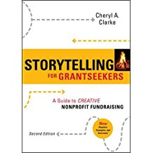 Storytelling for Grantseekers book title